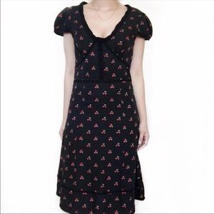 Like New Silk Marc Jacobs Cherry Dress, 8